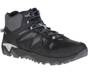 black boot