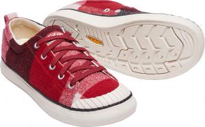 red dahlia sneaker