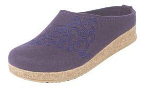 eggplant slipper